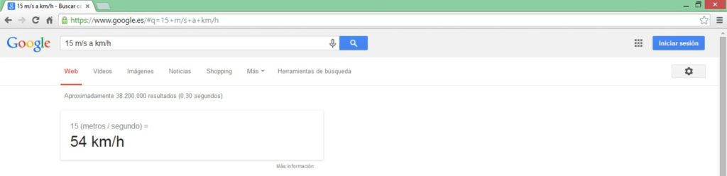Converir unidades - Google Tips - Bee Ingenious