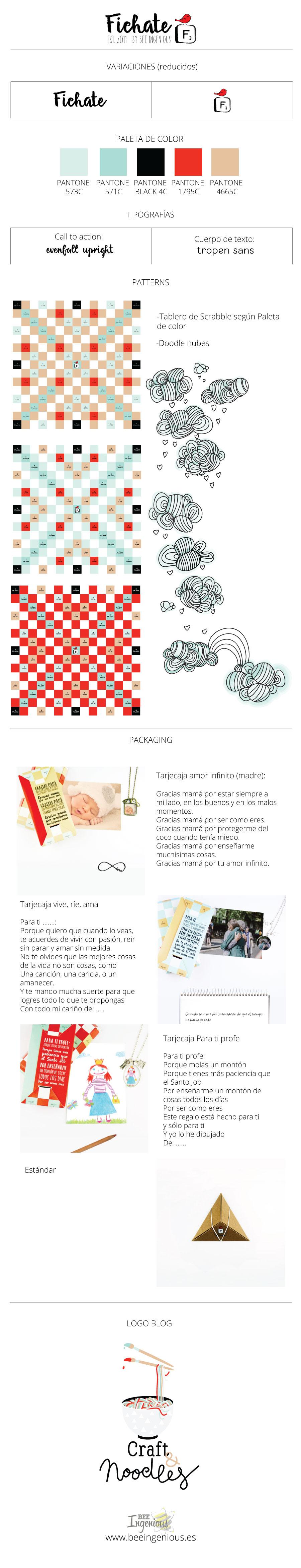 Imagen corporativa Fichate por Bee ingenious
